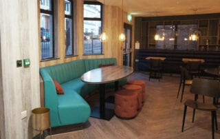 banquette seating for hotel
