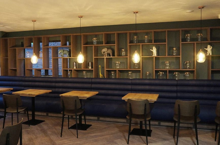 Banquette Contract Furniture in Restaurant