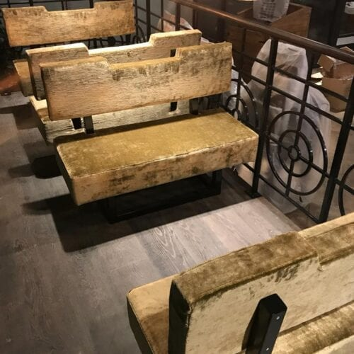 Contract Furniture Bench for restaurant