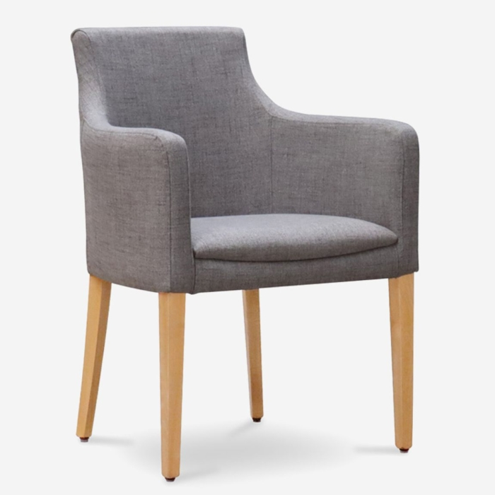 value armchair with wooden frame