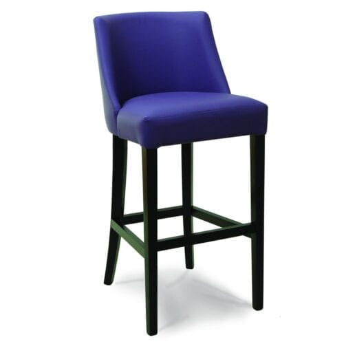 front view of the lido bar stool