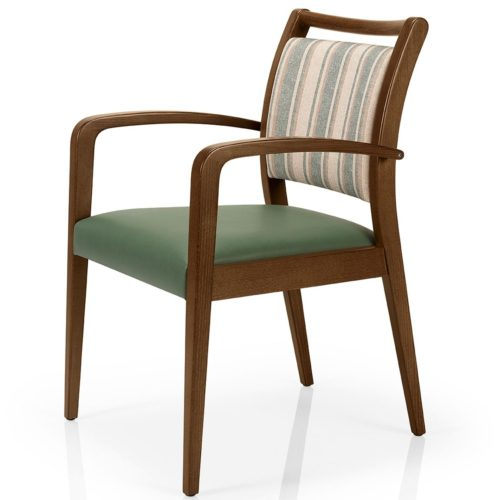 main view of the juliana dining armchair