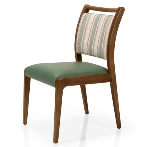 main view of juliana dining chair suitable for healthcare and restaurants