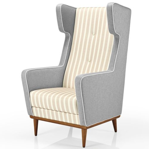 main view of the morgana lounge armchair