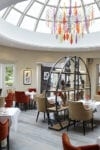 Restaurant contract furniture with dome ceiling