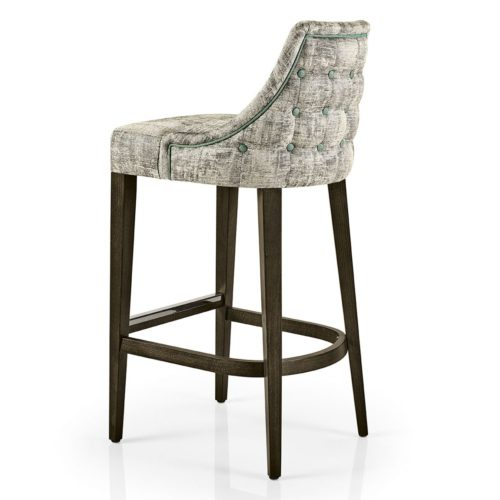 back view of hanna bar stool perfect for bars and restaurants