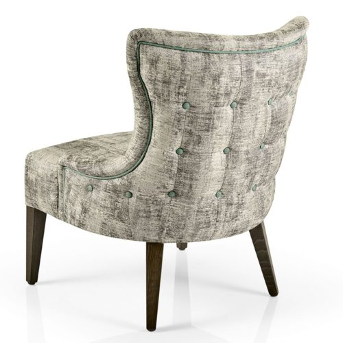 hanna low back lounge with buttoned outer back