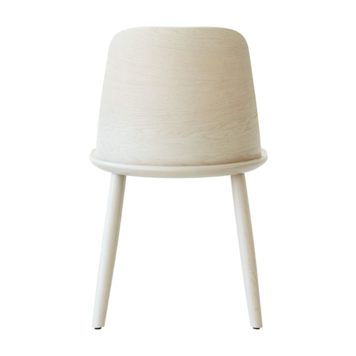 back view of dining chair