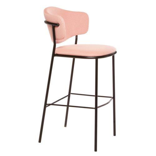 Side view of bar stool suitable for hospitality