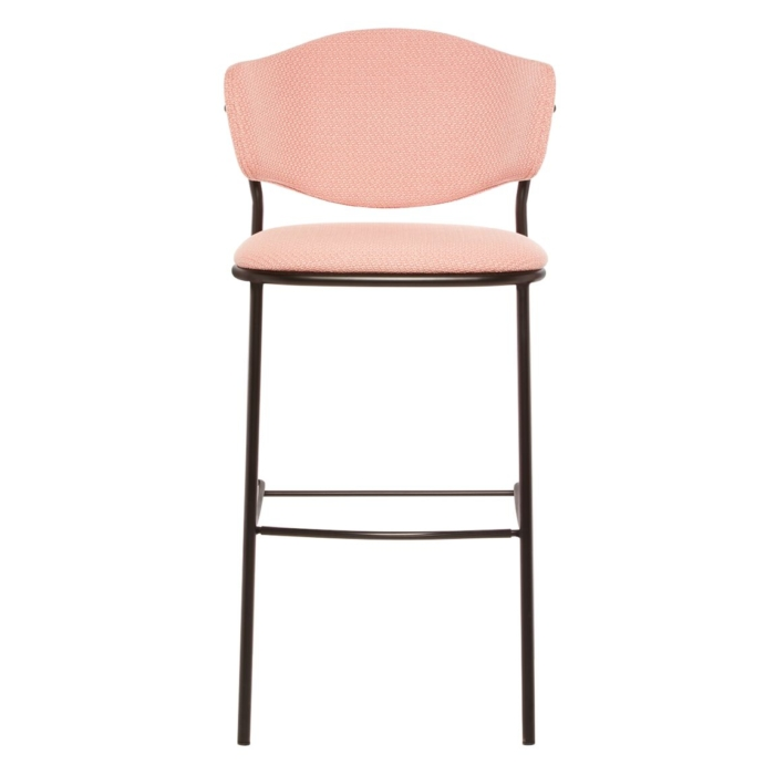 Front view of bar stool suitable for bars and restaurants
