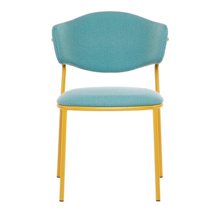 front view of the sweetly chair