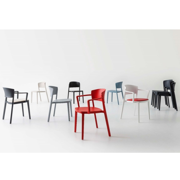 group shot of the abuela chair with all options showing