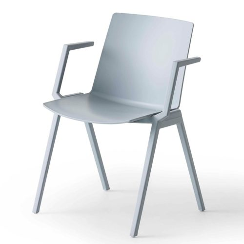 jubel armchair with polypropylene frame suitable for contract use