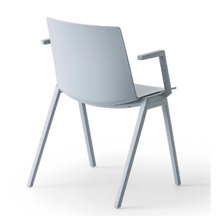 back view of jubel armchair