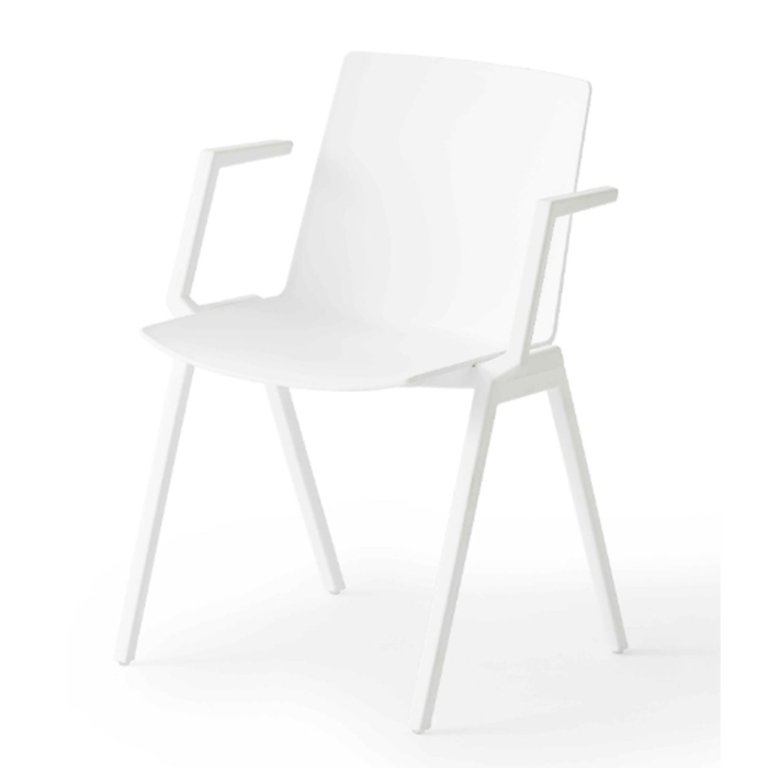 jubel armchair in white