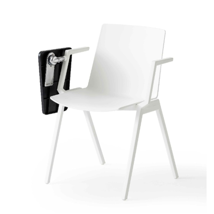 image of jubel armchair showing table folded away