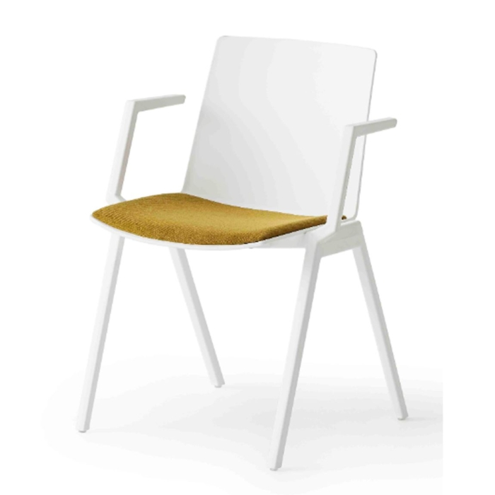 jubel armchair with upholstered seat pad