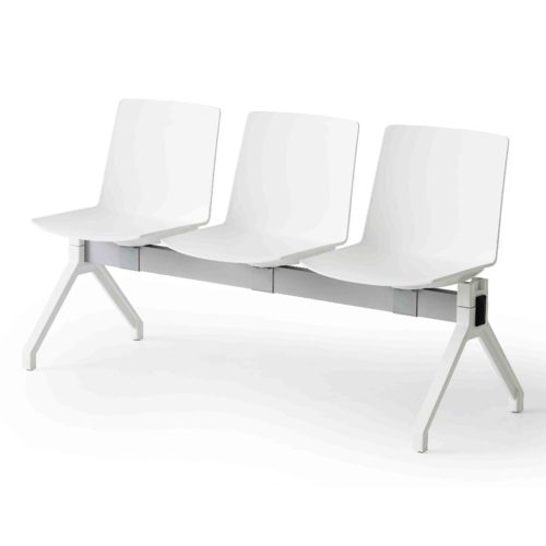 3 seater jubel bench for waiting and reception areas