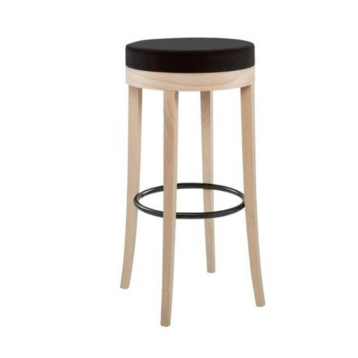 bacco stool with thicker seat pad