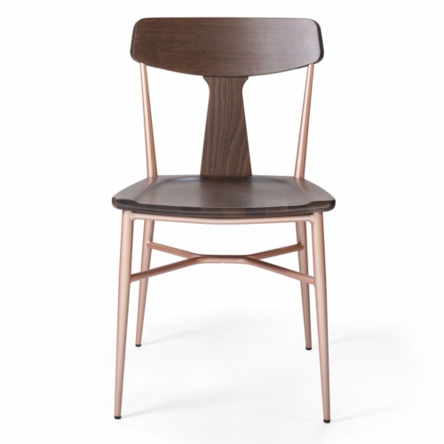 main view of the naika 2 chair suitable for use in contract environments