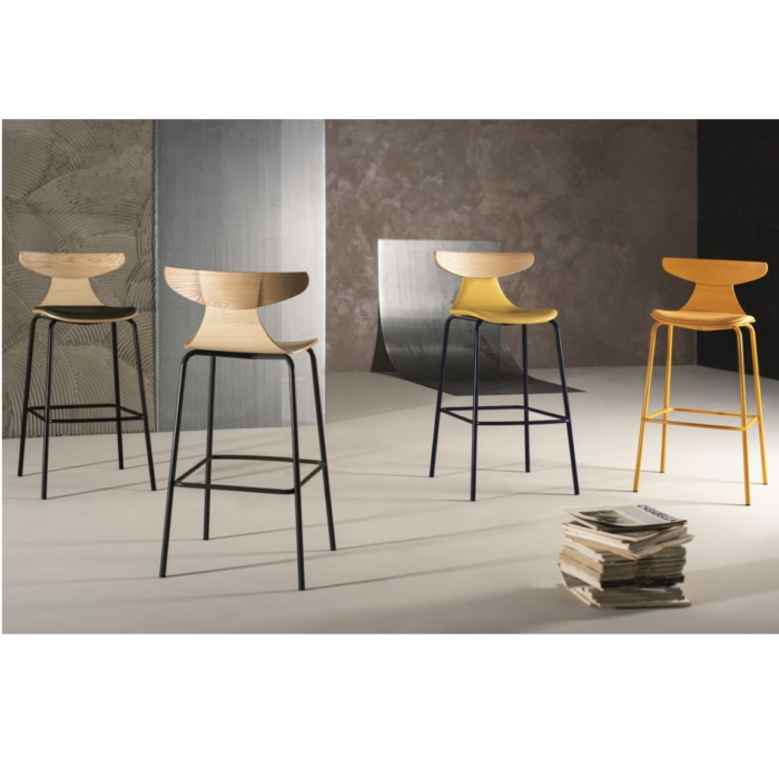 combination view of the romy bar stool