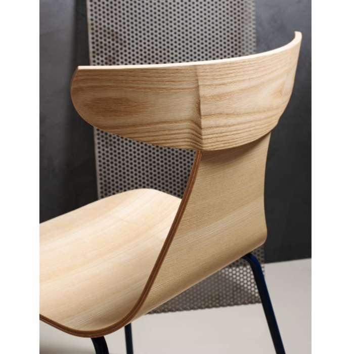 close up view of romy wooden back rest